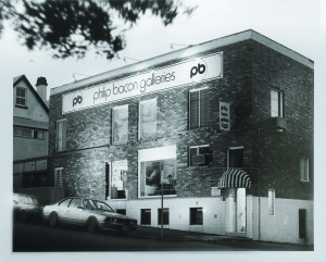 Philip Bacon Galleries, 2 Arthur St, Fortitude Valley, 1978