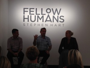 Peter Denham, Stephen Hart and Alison Kubler IN CONVERSATION about Hart's FELLOW HUMANS, Museum of Brisbane, until 2 March 2014
