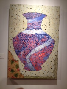 Bruce Reynolds, Hydria, 2014. From DAVID MALOUF AND FRIENDS Museum of Brisbane//16 May to 23 November 2014