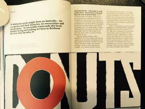 """""""The Painters Reach: Robert MacPherson"""", feature by Louise Martin-Chew, Art Guide Australia, July August 2015: p.58-59"""